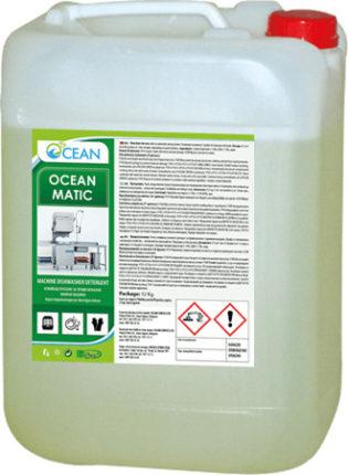 ОКЕАН МАТИК - Измиващ, основен препарат за съдомиялна