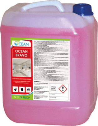 ОКЕАН БРАВО – Препарат за почистване на фаянс и теракот